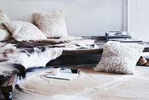 Fur decor at home