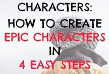 Writing Tips: Character / How to write good characters