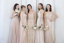 Hochzeit || Bridemaids & Farbkonzept / Farbkonzepte für die Hochzeit
