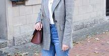 Outfits || Trend karierter Blazer / Outfits mit dem Trendteil Karo-Blazer (checked Blazer).