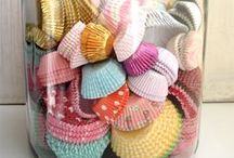 Cupcake Liner Creations / Kristie Barnett, The Decorologist, shares cute ideas for cupcake liner crafts and ideas. Check out more home decorating ideas on her website, TheDecorologist.com.