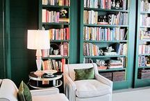 I Heart Books / Kristie Barnett, The Decorologist, shares inspiration for decorating with books. Check out more home decorating ideas on her website, TheDecorologist.com.