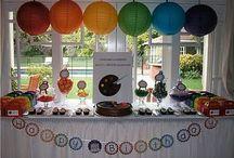 Birthday parties / by Lisa Julian
