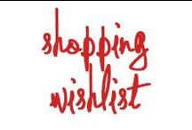 Shopping Wishlist