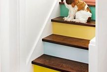 Stairways to Heaven / Kristie Barnett, The Decorologist, shares inspiration and ideas for staircases and stairwells. Check out more home decorating ideas on her website, TheDecorologist.com.