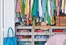 Closet Case / Kristie Barnett, The Decorologist, shares inspiration and ideas for closets. Check out more home decorating ideas on her website, TheDecorologist.com.