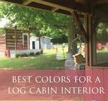 Cabin Fever / Kristie Barnett, The Decorologist, shares inspiration and decor ideas for cabins and log homes. Check out more home decorating ideas on her website, TheDecorologist.com.