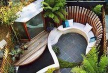 Outdoor Design & Living / Modern and contemporary gardens and outside landscape spaces. #garden #outdoor #design