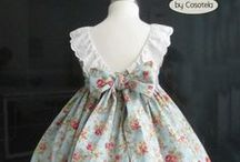 Sewing: Dresses for Virginia, & Kately / Dresses and other outfits / clothing for little girls