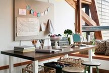 Inspiration: Sewing Spaces / by Bloomerie Fabrics