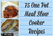 Crockpot Recipes - CQ / Save time by cooking in your slow cooker. Check out all of these easy slow cooker/Crock-pot recipes. / by ConsumerQueen