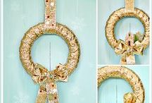 Crafts: Christmas Decor / A collection of the best Christmas decor craft tips and tutorials.
