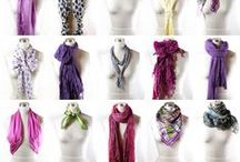 DIY: Scarves / A collection of the best tutorials for both making and wearing scarves!