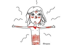 Doodles  / #doodles #art #comic #drawing #arte #dibujos   by: @ptyniki