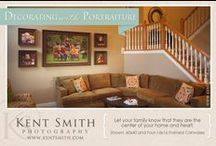 Portrait Decor / Nothing makes a house a 'home' better than a great family portrait. Our portrait designers will create a truly unique wall installation that will soon become the centerpiece of your home.