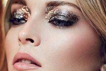 Holiday Glam/NYE Beauty / Hair, Makeup, Nails, & Dresses