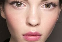 Spring/Summer Beauty Trends / Trends like summer color, artsy eyes, & flowers in the hair
