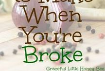 Frugal & Thrifty / A collection of frugal and thrifty articles and tips to help you save money.