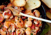 Recipes: Seafood / A collection of the best seafood recipes, including fish, shrimp, oysters, scallops, crawfish, lobster, and crab.