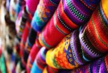 Fabrics, Fibers and Embroidered