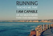 Run your heart out. / Running, fitness and physical motivation.