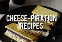 Cheese-piration Recipes / Pin all of your favorite cheesy recipes right here! Share them with the world and beyond. Cheese on!