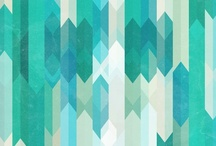 # Color board : Blue / Green / Teal / Turquoise / by Zomb Love