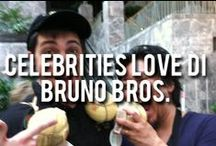 Celebrities LOVE Di Bruno Bros.