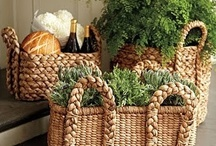 Baskets! / I have a collection of baskets too!  I think they're the neatest things! / by Kathy Kelly