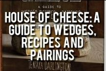 House of Cheese: A Guide to Wedges, Recipes and Pairings / We're proud to announce the launch of our very first Cookbook, a collaboration with our beloved, Madame Fromage, also know as Tenaya Darlington. The book features 170 cheese profiles, 30 recipes, and 10 themed cheese boards, as well as beautiful full-color photographs from local photographer Jason Varney serve to put names with wheels and wedges of cheese, glorious cheese.  http://www.dibruno.com/di-bruno-bros-house-of-cheese-a-guide-to-wedges-recipes-and-pairings.html