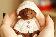 Toys & Dolls / Куклы и игрушки / Beautiful ooak art dolls, lovely teddy bears, cute toys /   Коллекционные куклы ручной работы, текстильные игрушки, мишки Тедди, куклы Тильды, сказочные персонажи, очаровательные игрушки-зверята.