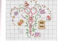 embroidery: cross stitch / by Bunny Kingston
