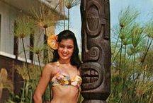 Tiki Girls / beauty + women + tiki