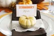 Thanksgiving / A collection of crafts, recipes, decor and more for Thanksgiving!