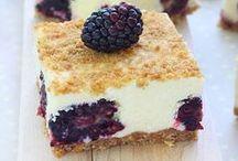 Sweet Treats / Pies, tarts, sweet dips, and more! #recipes #desserts #pie #tart #dip #food
