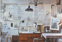 Whimsical living spaces  / by Amanda Anderson
