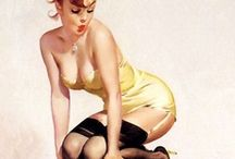Pin-Up / Lovely pin-up models that catch my eye.