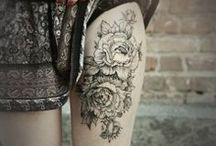 Ink / Tattoos of all shapes and kinds . . . some images may be NSFW due to their particular location on the body.