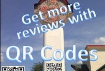 QR barcode art and design