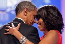 President Barack Obama and First Lady, Michelle Obama / by Debbie McClellan