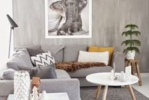 HOME | GREY / Grey match every colour, its warm, sophisticated, simple and stylish