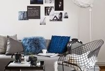 HOME | BLUE / Colour inspiration for your home. Dare to style with colour and choose the colour what makes you happy. In this board you'll find Blue inspiration for your house.