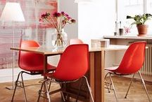 HOME    ORANGE / RED / Add a little Red, Orange or Pink to your interior for a colourful and tasty atmosphere
