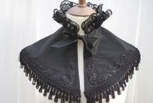 Capes + Cloaks / Also includes caplets, shrugs, and so forth.