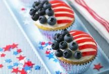 4th of July / Celebrate the 4th with red, white and blueberries!