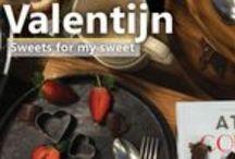 Sweets for my sweet / Uw grote liefde verrast u niet alleen op Valentijnsdag. Kook en bak niet alleen voor geliefden, maar verras ook vrienden. Bereid een maaltijd in een hartjespan, bak een zoete taart of smul samen van chocoladesoufflé.