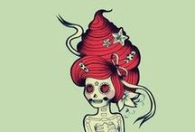 Ideas for mermaid tattoo / Most of the mermaid tattoos I'm seeing are either sexy or cartoonish.  I'm looking for something mystical. It's going on  my inner right forearm, so it can't be very big.