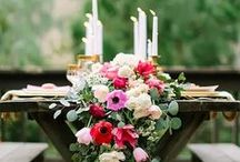 //table settings and tent decor / wedding dining details / by Madeline Nutrition