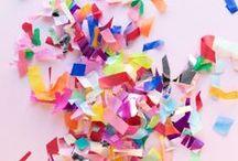 Confetti / Sprinkles, Confetti & Color
