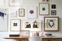 FRAMES / Ideas for frames on the wall / Ideeën voor fotolijsten aan de wand